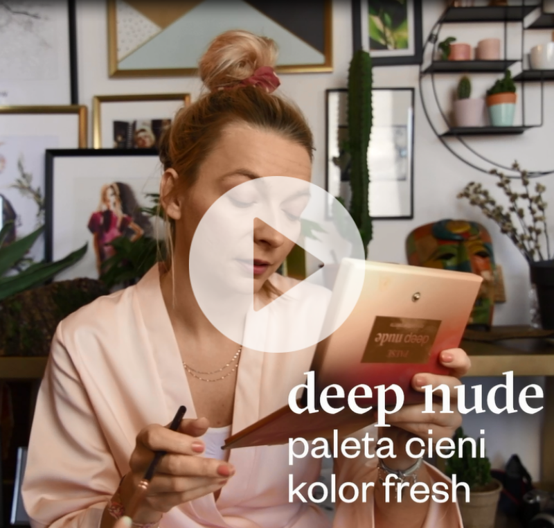 Paleta cieni do powiek Deep Nude 19 g