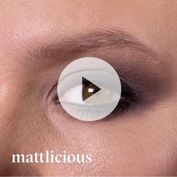 Paleta cieni do powiek Mattlicious 12 g